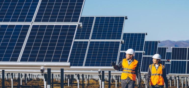 Сервісне обслуговування сонячних електростанцій