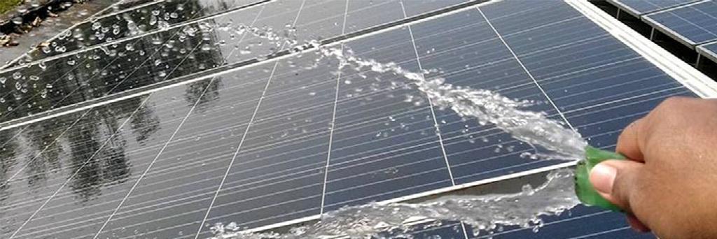 Як доглядати за сонячними панелями