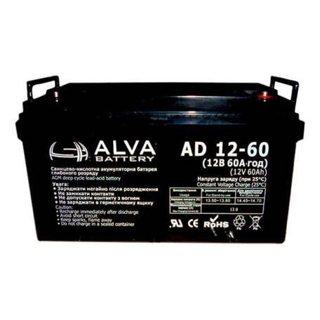 Акумулятор ALVA battery AD12-60 AD12-60