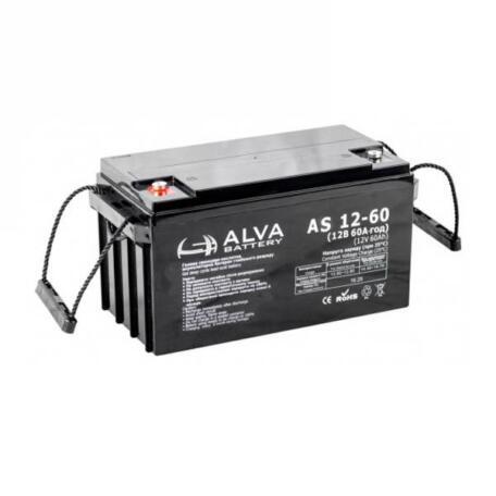 Акумулятор ALVA battery AS12-60 Аккумулятор Alva battery AS12-60
