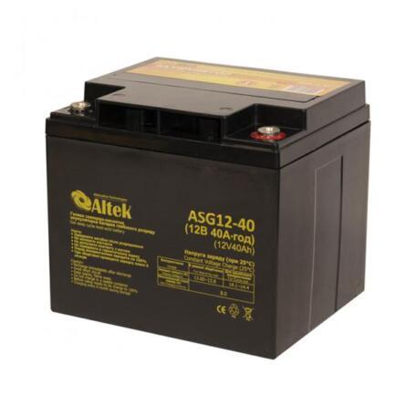 Акумулятор Altek ASG12-40 GEL ASG12-40 GEL