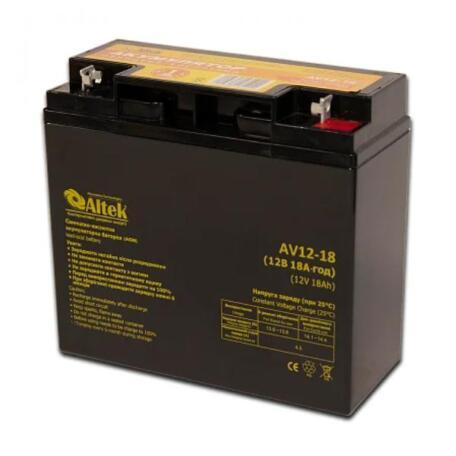 Акумулятор Altek AV12-18 AGM AV12-18 AGM