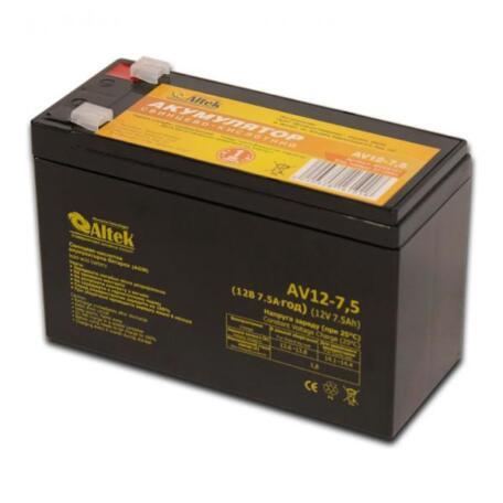 Акумулятор Altek AV12-7,5 AGM AV12-7,5 AGM