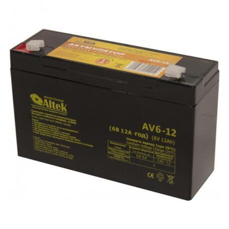 Акумулятор Altek AV6-12 AGM Акумулятор Altek AV6-12 AGM