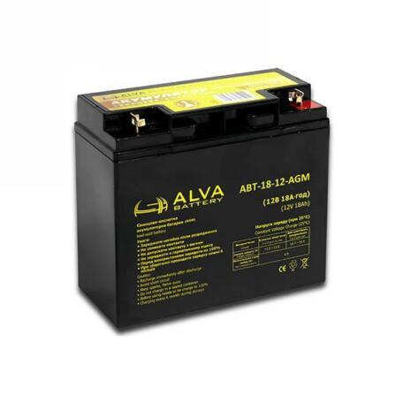 Акумулятор ALVA battery АВТ-18-12-AGM АВТ-18-12-AGM