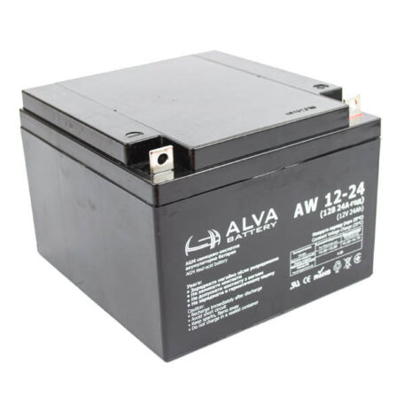 Акумулятор ALVA battery AW12-24 AW12-24