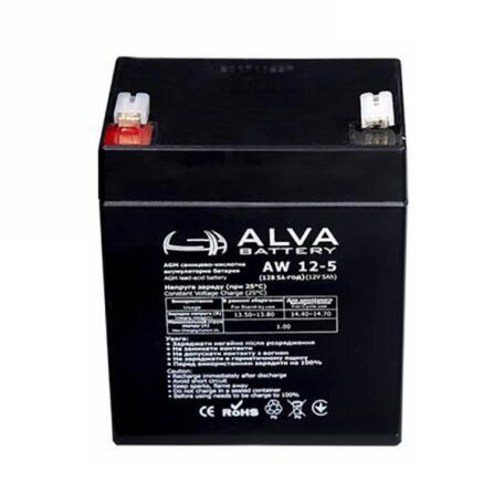 Акумулятор ALVA battery AW12-5 AW12-5