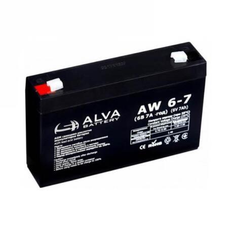 Акумулятор ALVA battery AW6-7 AW6-7