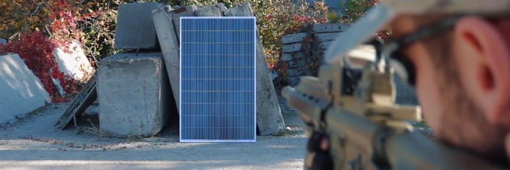 Краштест солнечных панелей