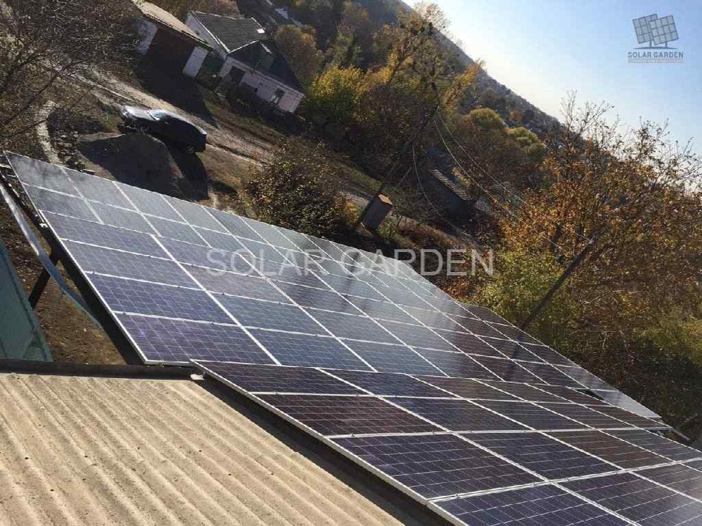 Сонячна електростанція 20 кВт