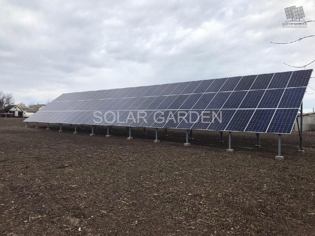 Сонячна електростанція 40 кВт