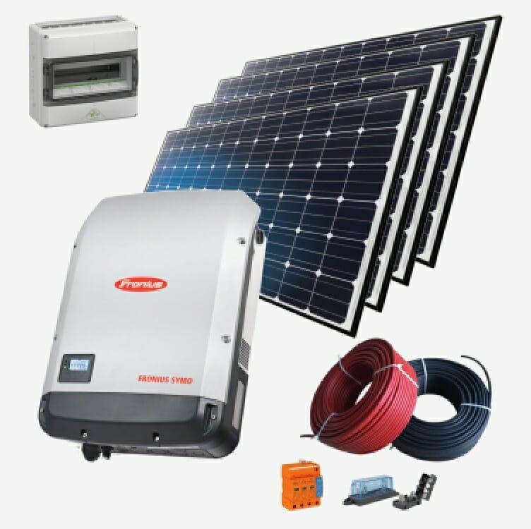 В комплект автономної сонячної станції входить: