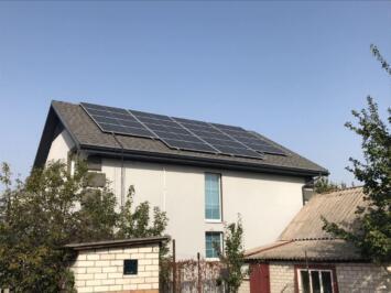 Командою Solar Garden були реалізовані Автономні сонячні станції: для приватного будинку, а також для складських приміщень 2