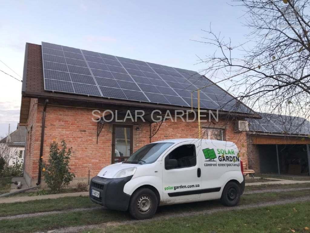 Сонячна електростанція 33 кВт