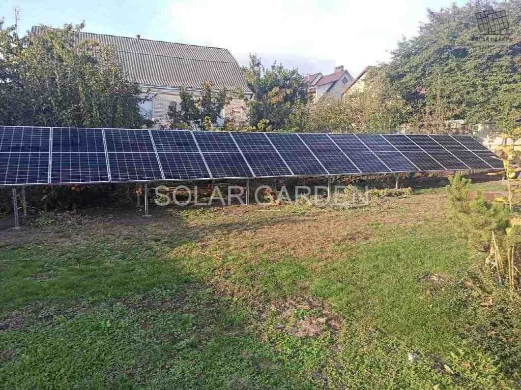 Сонячна електростанція 34 кВт