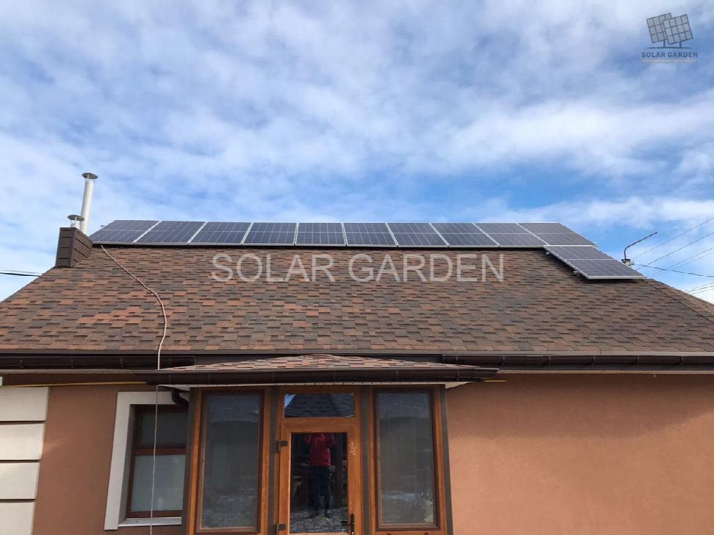 Сонячна електростанція 13 кВт