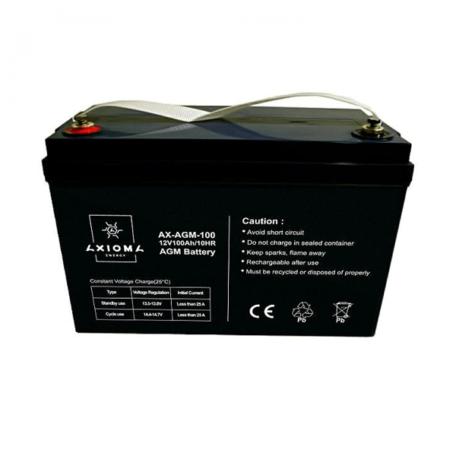 Акумулятор AXIOMA energy AGM 12В 100Ач, AX-AGM-100 AGM 12В 100Ач, AX-AGM-100