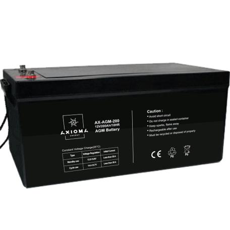 Акумулятор AXIOMA energy AGM 12В 200Ач, AX-AGM-200 Акумулятор AXIOMA energy AGM 12В 200Ач
