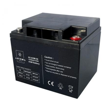 Акумулятор AXIOMA energy AGM 12В 50Ач, AX-AGM-50 AGM 12В 50Ач, AX-AGM-50