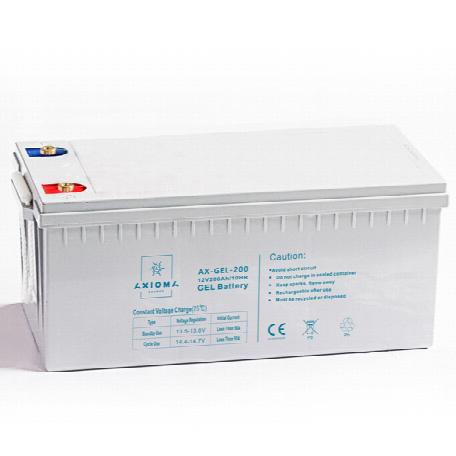 Акумулятор AXIOMA energy 12В 200Ач, AX-GEL-200 Гелевий АКБ 12В 200Ач, AX-GEL-200
