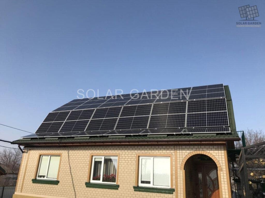 Сонячна електростанція 19 кВт
