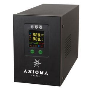 Гібридний ДБЖ+стабілізатор 800ВА/500Вт/12В + MPPT контролер 20А 12В, AXEN.IS-800
