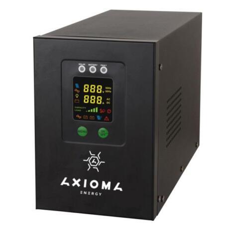 Гібридний ДБЖ+стабілізатор 2000Вт 24В + MPPT контролер 60А 12/24В, APSV 2000W/24V Гібридний ДБЖ+стабілізатор 800ВА/500Вт/12В + MPPT контролер 20А 12В, AXEN.IS-800