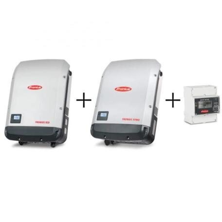 Комплект інверторів Fronius Комплект инверторов ECO 27.0-3-S + SYMO 3.0-3-М Light+ Smart Meter