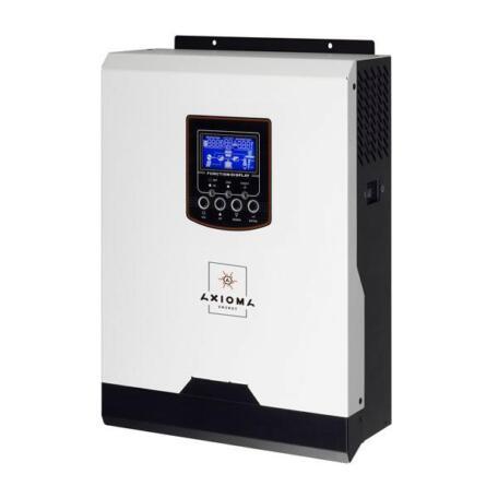 Гібридний ДБЖ AXIOMA energy Гибридный ИБП 5000Вт, 48В + ШИМ контроллер 50А,ІSPWM 5000