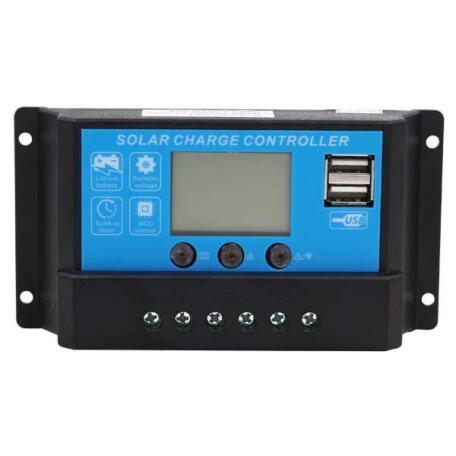 Контролер заряду 10A 12/24B+USB DY1024 Контроллер заряда 10A 12/24B+USB DY1024