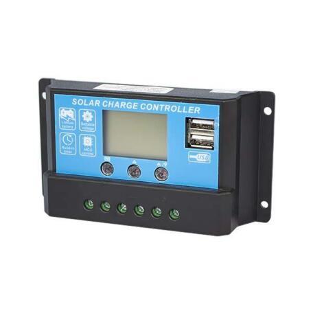 Контролер заряду 20А 12/24В+USB DY2024 Контроллер заряда 20А 12/24В+USB DY2024
