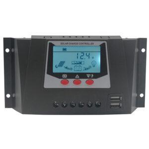 Контролер заряду 30А 12/24В PWM + USB WP3024D