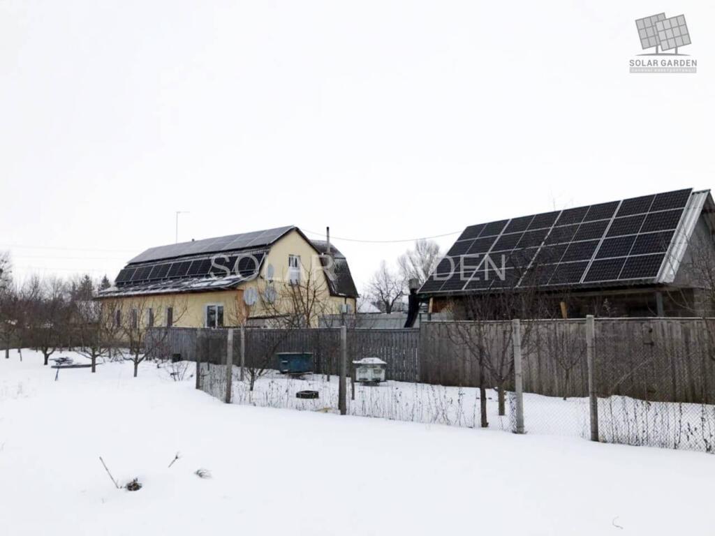 Сонячна електростанція 21 кВт