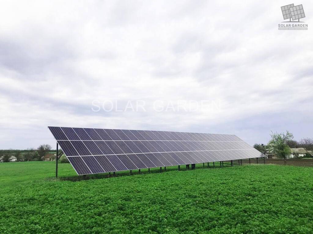 Сонячна електростанція 30 кВт