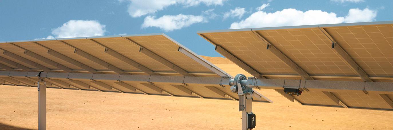 конструкция солнечного трекера