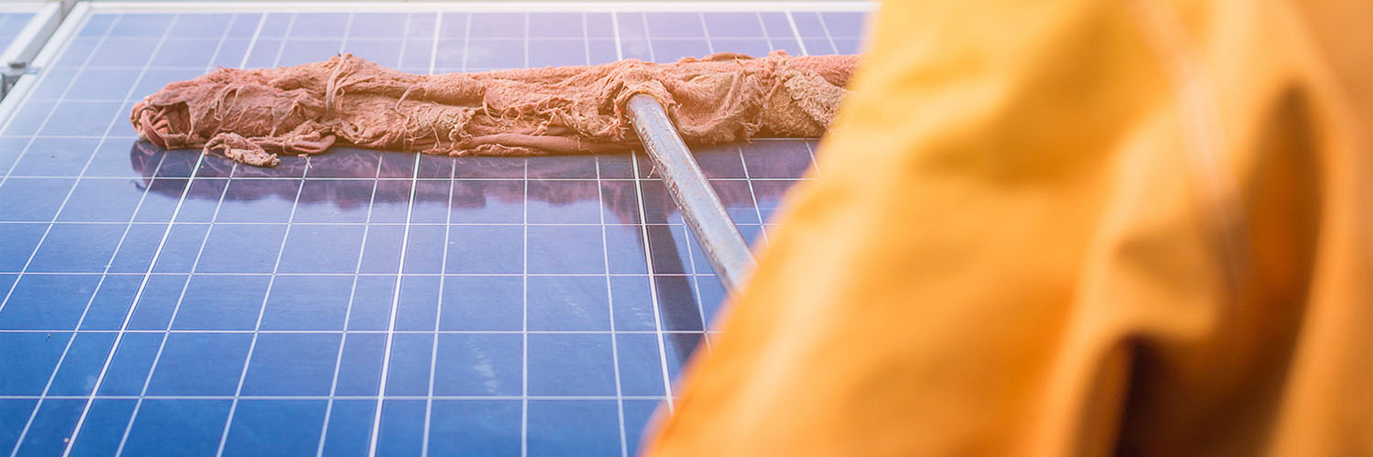 уход за солнечными батареями