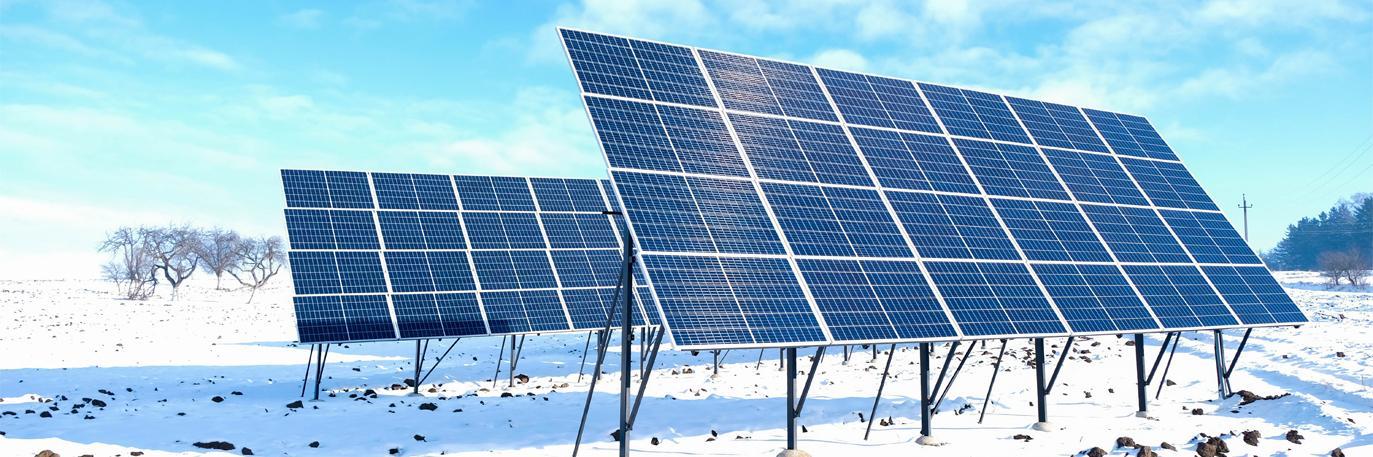 как работают солнечные батареи зимой